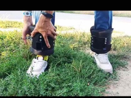 """Ігровий ролик - гравітаційні черевики """"Кажан"""""""